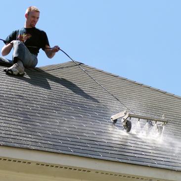 Nettoyage et peinture toiture