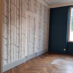 renovation artisan peintre peinture papier peint parquet salon orleans (3)